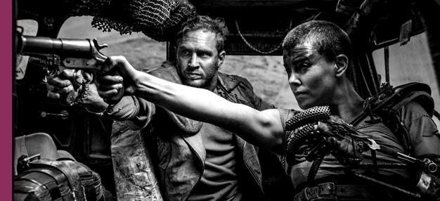 Mad Max : Fury Road (Black and Chrome)