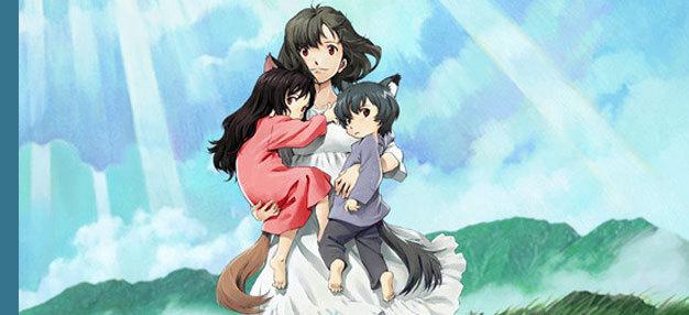 Les Enfants loups Ame & Yuki