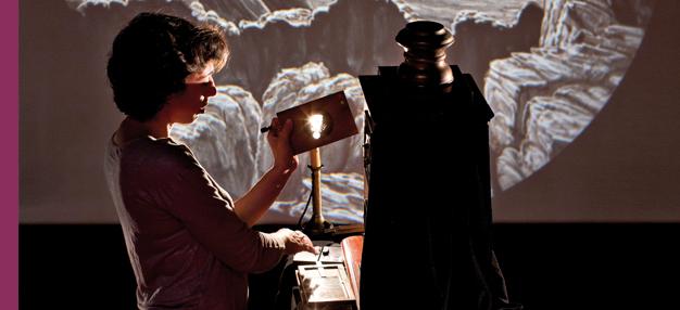 Ombre et lumière, une histoire de lanterne magique