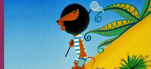 Les Vacances du Lion Boniface (dans le programme Sametka, la chenille qui danse)